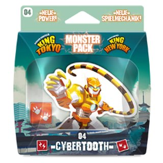King of Tokyo / King of New York Monsterpack: 04 Cybertooth