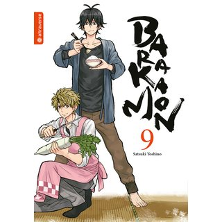 Barakamon, Band 9