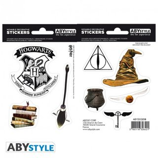 HARRY POTTER - Stickers - 16x11cm/ 2 planches - Magical Objects
