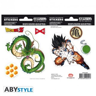 DRAGON BALL -Stickers - 16x11cm/ 2 sheets - DBZ/ Shenron