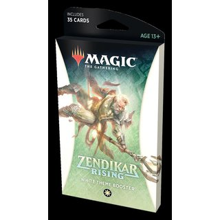 MtG: Zendikar Rising Theme Booster: White