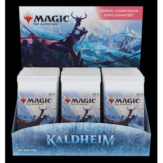 MtG: Kaldheim Set Booster Display (de)
