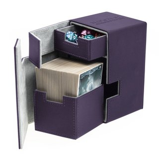 Ultimate Guard Flip´n´Tray Deck Case 100+ Standardgröße XenoSkin Violett