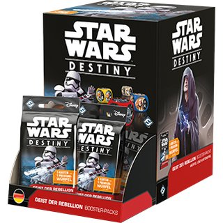 Star Wars Destiny - Geist der Rebellion (Display)